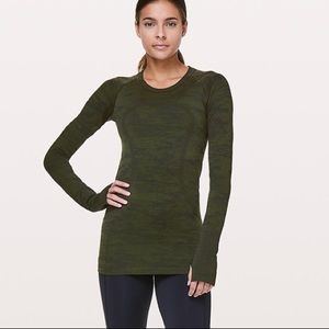 Lululemon green swiftly tech long sleeve